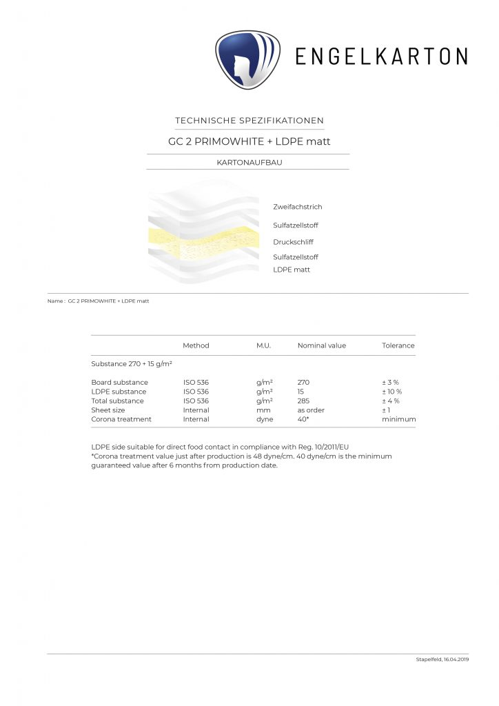 GC 2 PRIMOWHITE + LDPE matt Img